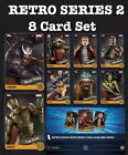 RETRO SERIES 2 SET 8 CARDS TOPPS MARVEL COLLECT DIGITAL