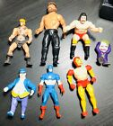 Vintage Action Figure Lot Secret Wars Marvel DC He Man Chuck Norris Toy Biz