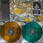 THE STONE ROSES Self Tittle Green Amber Colored Vinyl
