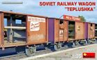 "Miniart 35300 - 1/35 SOVIET RAILWAY WAGON ""TEPLUSHKA� Model kit"