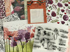 Beautiful You UNBRANDED stamps Clear Block  Stampin Up DSP 6x6paper 40 Sheets