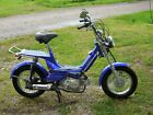 50 cc Gas Powered Moped Blue Color Metro Rider Ships Assembled Brand New