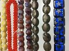 Bulk Lot of Glass Beads 10 strands Czech Glass Beads Variety Mix of Colors