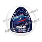 SPACEX BUTTON NASA DM 2 Mission HURLEY BEHNKEN Astronauts Space X