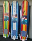 NEW Wavestorm Soft Surfboard 8 Foam with fins and leash 2020