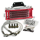 Motorcycle Red Engine Oil Cooler Radiator Fitfor 50 70 90 110CC Dirt Bike Racing