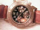 Vintage Nautica Chronograph Lightly Used, Black Dial needs battery/servicing