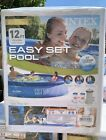 Intex  Above Ground Swimming Pool Easy Set 12ft X 30in With Pump  IN HAND