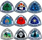 National Scenic Trail Patches 35 Inch Iron on Badge USA Trek Hike Backpack