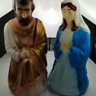 Vintage Empire Nativity Blow Mold Mary Joseph and Jesus 28