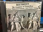 CD BEETHOVEN  THE CREATURES of PROMETHEUS ROCHESTER PHILHARMONIC David Zinman