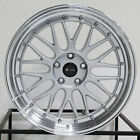 4 New 19 Vors VR8 Wheels 19x85 19x95 5x1143 35 35 Silver Staggered Rims 731