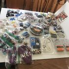 Huge Lot Glass Wood And Plastic Beads Jewelry Making Supply 50 Items And More