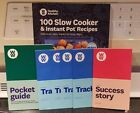 Weight Watchers Slow Cooker Instant Pot Recipes Cookbook Pocket Guide Trackers