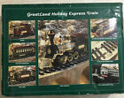 1994 Greatland Holiday Express Train G Scale Battery Powered Model Set Open Box
