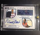 Shaq Moses Malone Dual Auto Jersey 2 10 Topps Luxury Box (Both NBA Top 50)