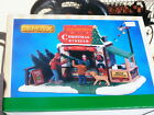 NEW '18 LEMAX GARLAND CHRISTMAS TREES Bldg HOT COCOA STAND 83354 Holiday Village