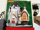NIB 2004 LEMAX LITTLE RIVER CHURCH Light Porcel 45069 Chrisitmas Holiday Village