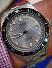 $2300 ORIS 65 SIXTY FIVE SILVER AUTOMATIC DIVERS WATCH FULL BRACELET