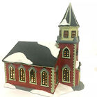 Lemax 1997 Christmas Village Porcelain Lighted Church Measured 8