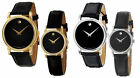 Movado Museum  2100002 2100004 2100005 2100006 Watch Men Women Black Gold Silver