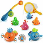 Baby Bath Toys Mold Free Fishing Games Water Pool Bathtub Toy for Toddlers Kids