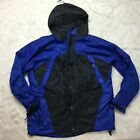 Stearns Dry Wear Men Foul Weather Gear Rain Jacket Size XL Blue Black J3