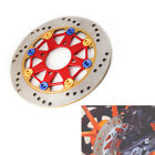 Motorcycle 220MM Metal Disc Front Wheel Brake Rotor Floating Heat Sink Universal