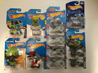 Hot Wheels Scooby Doo Angry Birds Peanuts Snoopy Despicable Me Halo 11 Cars