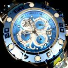 Invicta Excursion Ocean Series Octopus High Polished Steel Blue 54mm Watch New