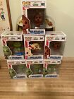(Lot Of 7)Funko Pop! Dr. Seuss: The Grinch, Cindy, Max, (exclusives) Underwear