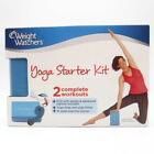 Weight Watchers YOGA STARTER KIT 2 Complete Workouts DVD Strap Block Tracker WW