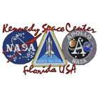 NASA SPACE SHUTTLE APOLLO Embroidered 3 Emblem Patch Free Shipping from US