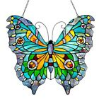 Tiffany Style Butterfly Design Stained Glass Window Panel LAST ONE THIS PRICE