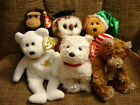 TY BEANIE BABIES Holy Father, Whittle, Smarty, Dundee, Weaver, Tasty