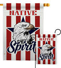 Native Spirit Garden Flag Country Living Small Decorative Gift Yard House Banner