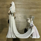 Retired Vintage Lladro Here Comes the Bride #1446 Collectible