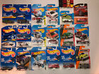 Hot Wheels Police Cars Fire Trucks Rescue Van Armored Truck VHTF Lot Of 28
