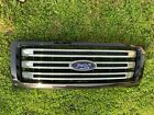 2013  2014 FORD F150 GENUINE 09 THRU 3 BAR GRILLE OEM 13 14