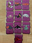 Series 3 Entire MAGENTA Retired Set ALL 10 CARDS!!!  TY Beanie Babies BBOC Card