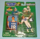 Peyton Manning 1998 Starting Lineup Extended Series Rookie Indianapolis Colts