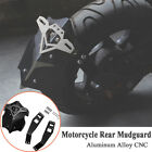 Aluminum Motorcycle Rear Fender Styling Mud Dust Wheel Splash Guard Extender