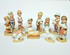 Schmid Holy Family Set The Christmas Pageant 1981 Nativity 12 Piece