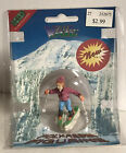 New in Box - Lemax 1996 Village Vail Collection Skier Skiing Poly Resin Figurine