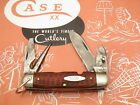 Case XX 1940-1964 6445 R Scout Knife Nice Red Bone Used Great EDC