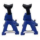 3 Tons Aluminum Racing Jack Stands Blue