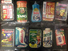 2018 WACKY PACKAGES GO TO THE MOVIES COMPLETE SET 10 HOBBY OVERSIZE BOX TOPPERS