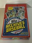 2017 Topps Archives MLB Baseball Hobby Box Factory Sealed 24 Packs