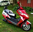 250 cc Adults Gas Scooter Street Legal Red Metro Rider Brand New Assembled