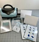 Sizzix Texture Boutique Embossing Cardmaking Purse Style Machine w Plates +